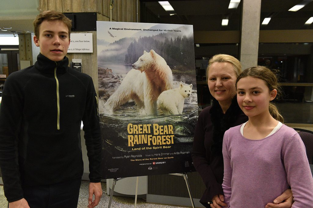 Great Bear Rain forest movie poster in Ontario Science Center