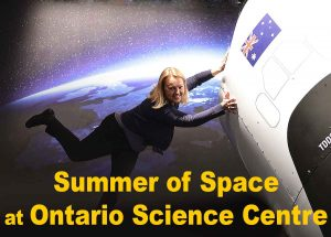 Summer of Space on Ontario Science Centre