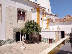 Courtyard of The Palácio Nacional de Sintra