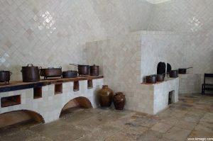 Large Kitchen in The Palácio Nacional de Sintra
