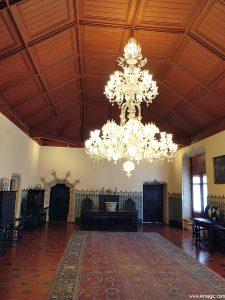 Large Hall in The Palácio Nacional de Sintra