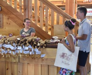 St. Jacobs Farmers Market, Ontario Canada Waterloo, shopping for summer sausage