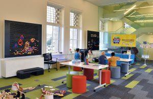 Kids play area, Cambridge Library, Cambridge, OntarioKids play area, Cambridge Library, Cambridge, Ontario