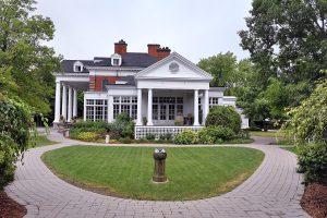 Side view of Langdon Hall, Cambridge, Ontario