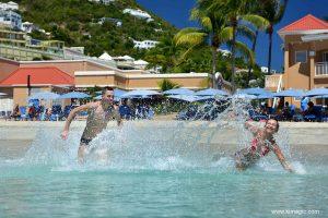 Fun in Divi Resort waters